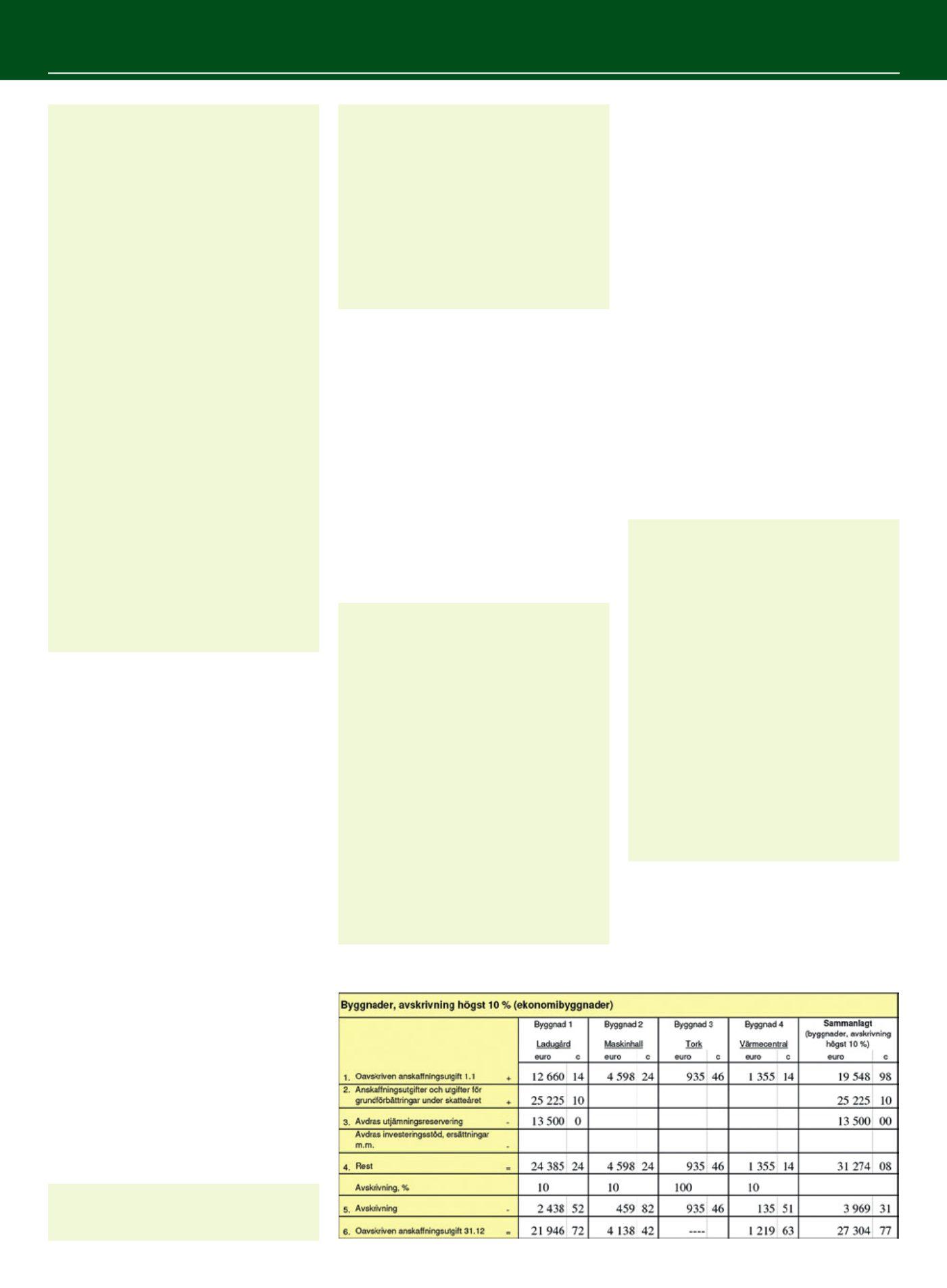 Avskrivning byggnad skatteverket